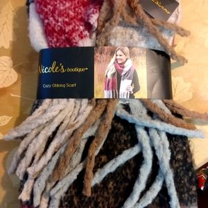 Nicole's boutique cozy oblong winter scarf